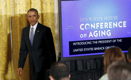 Obama WHite House Conference on Aging