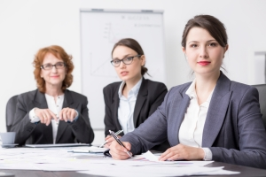 Professional managers in a successful company